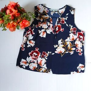 Cleo Floral sleevless top